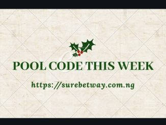 Pool Code This Week